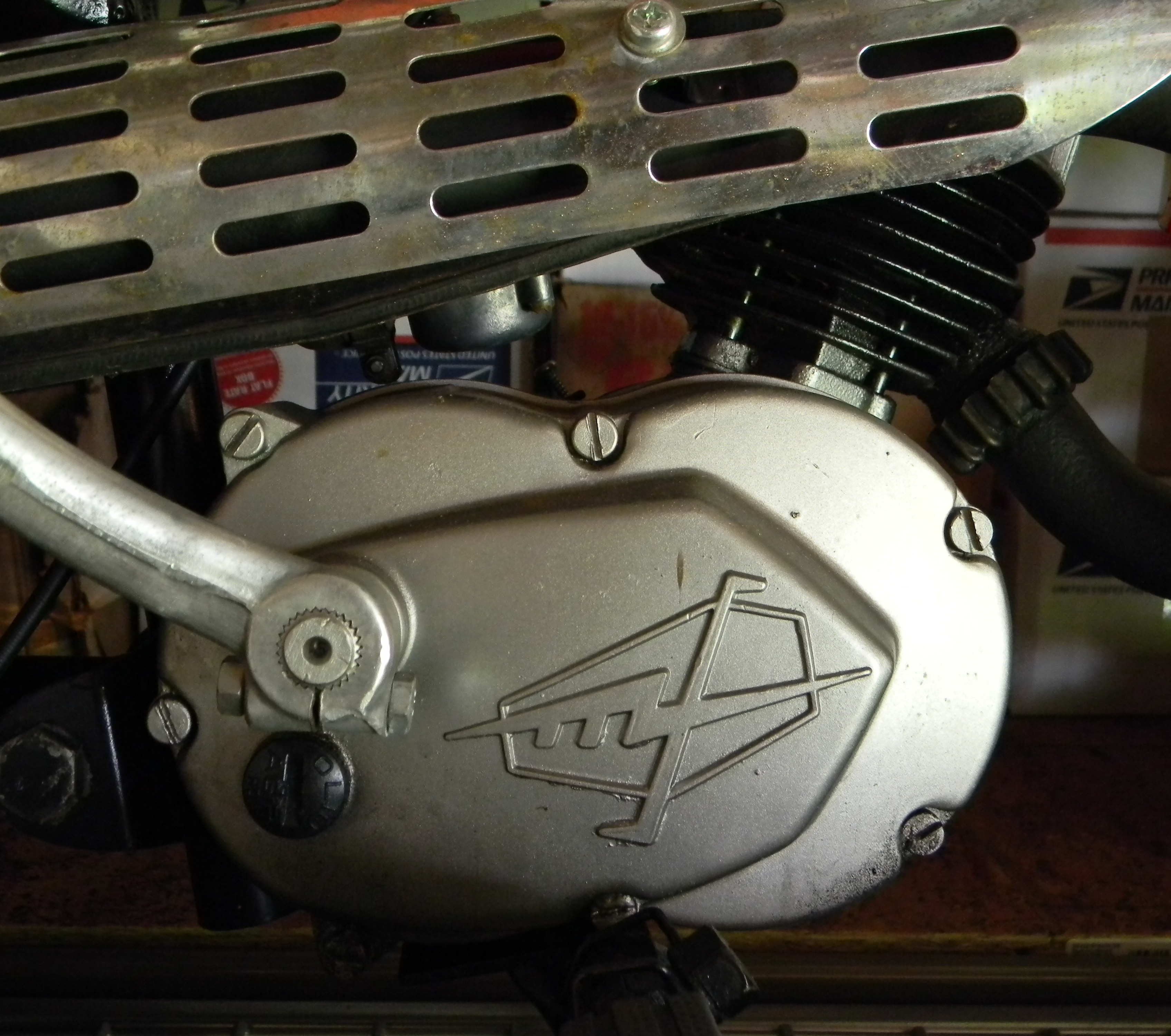 Indentfying Your Indian Dirtbike. Is your Indian powered by a Franco  Morini, Motori Minarelli, Fuji 100?